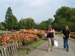 リージェンツ・パークのバラ園
