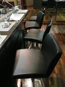 シラク前大統領が座った席