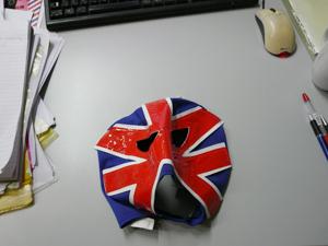 はい。覆面マスクです