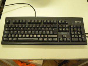 商品その4 Compaqのキーボード