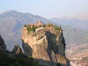 メテオラにある修道院の一つ