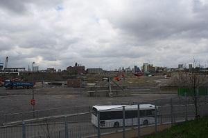 解体中のオリンピック・パーク