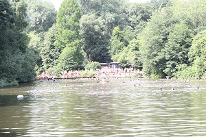 ハムステッド・ヒースの池