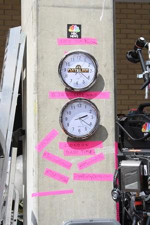 米国時間とロンドン時間