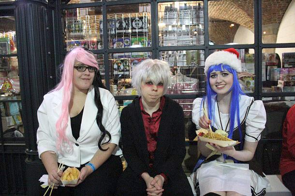 ハイパージャパン2015クリスマス・マーケットのコスプレイヤーたち