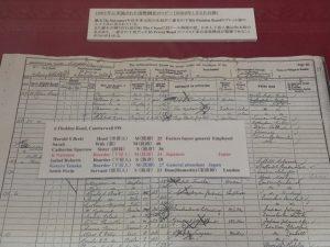 国勢調査のコピー