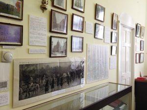 漱石記念館の館内