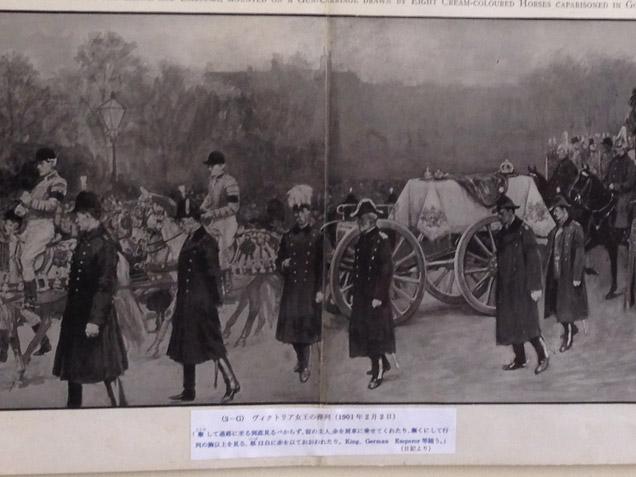 ヴィクトリア女王の葬列