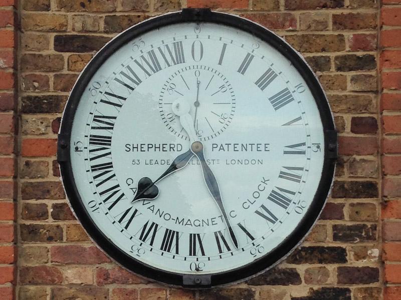 グリニッジ天文台の時計