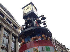 スイスのからくり時計