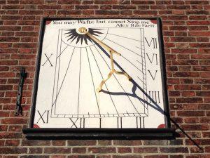 タンブリッジ・ウェルズの日時計