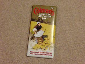 マスタードのチョコレート