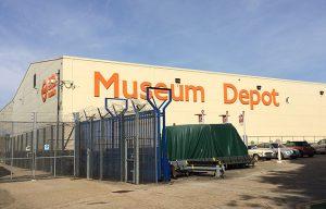Museum Depotの入り口