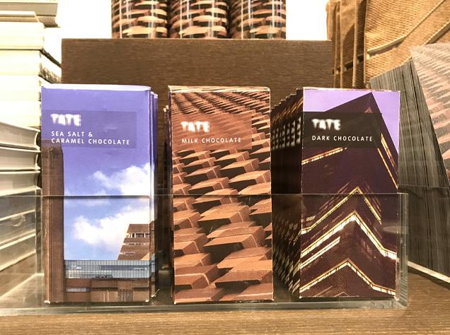 Tate Modern 新館チョコ