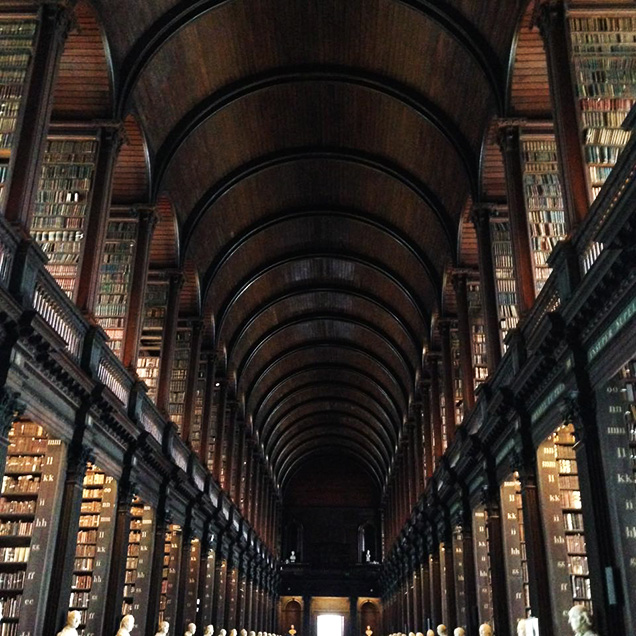 Trinity College, The Old Library & The Book of Kells