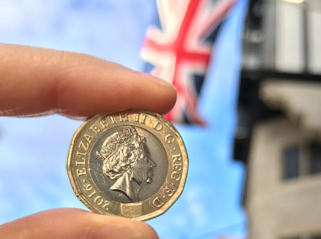 新1ポンド・コイン