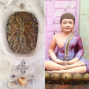 buddha green-man