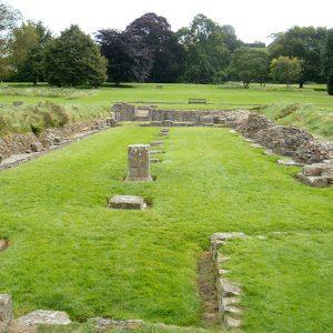 glastonbury abbey monastic ruins