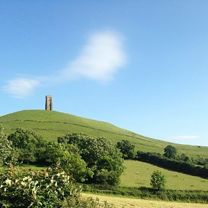 glastonbury tor view