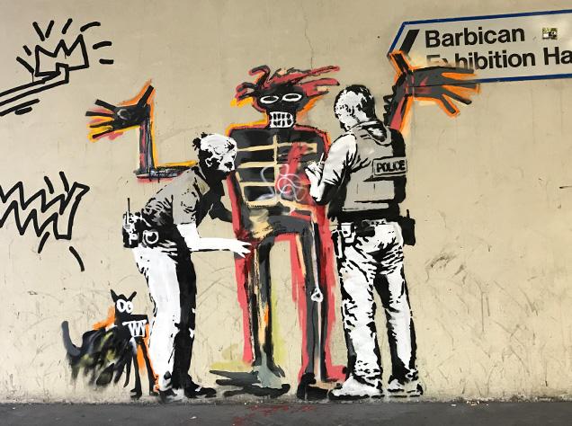 Banksy x Basquiat