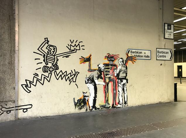 Banksy x Basuiat