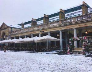 雪のコベント・ガーデン