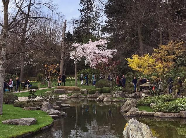 ホランド・パークの京都庭園