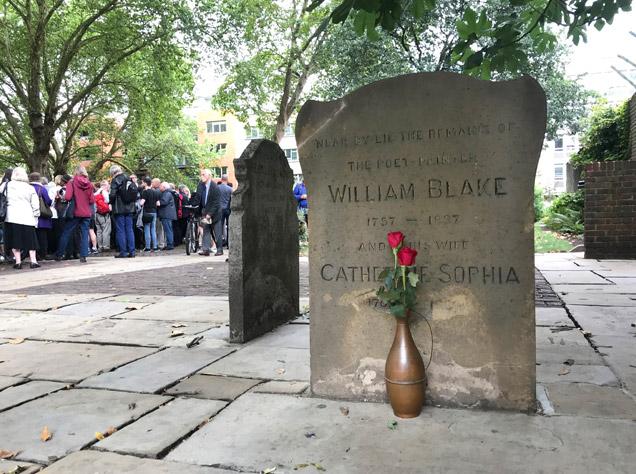 ウィリアム・ブレイクの墓