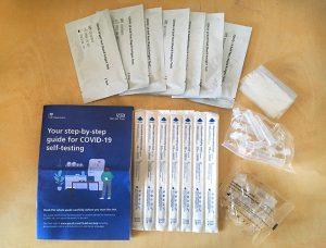 covid-19 self-test (Rapid Antigen Test)